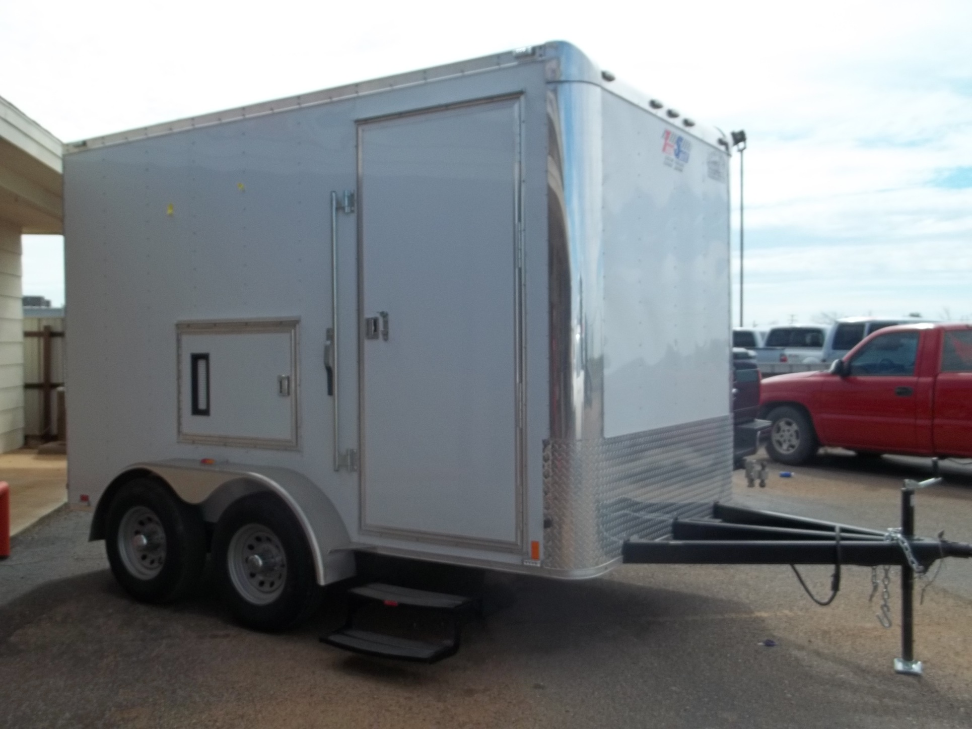 7 X 12 Emergency Shower Trailer