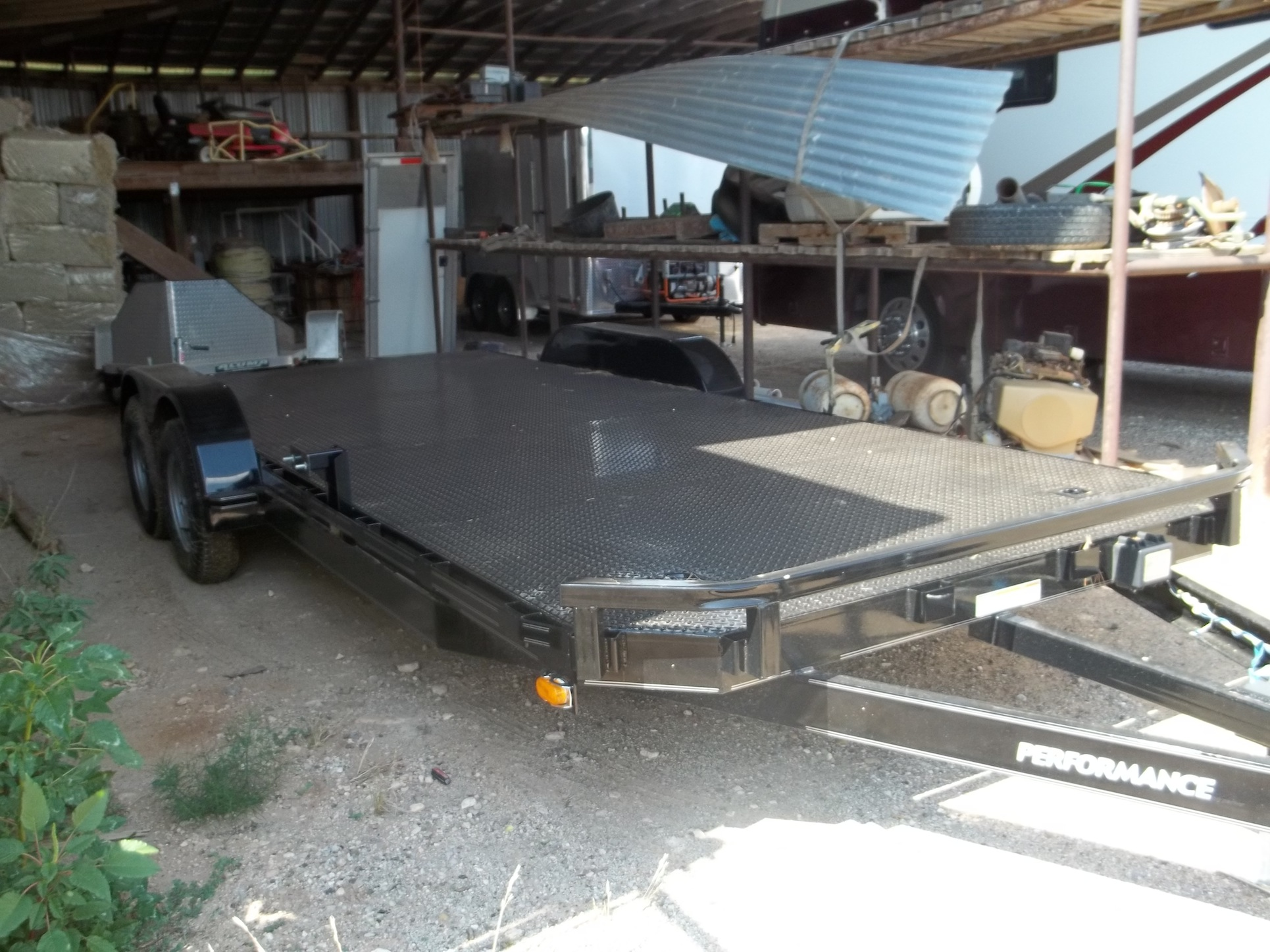 SC8320 STEEL FLOOR CAR HAULER