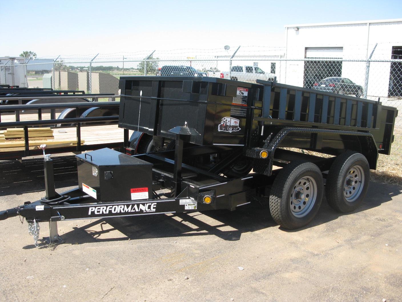 5 x 10 Hydraulic Dump Trailer